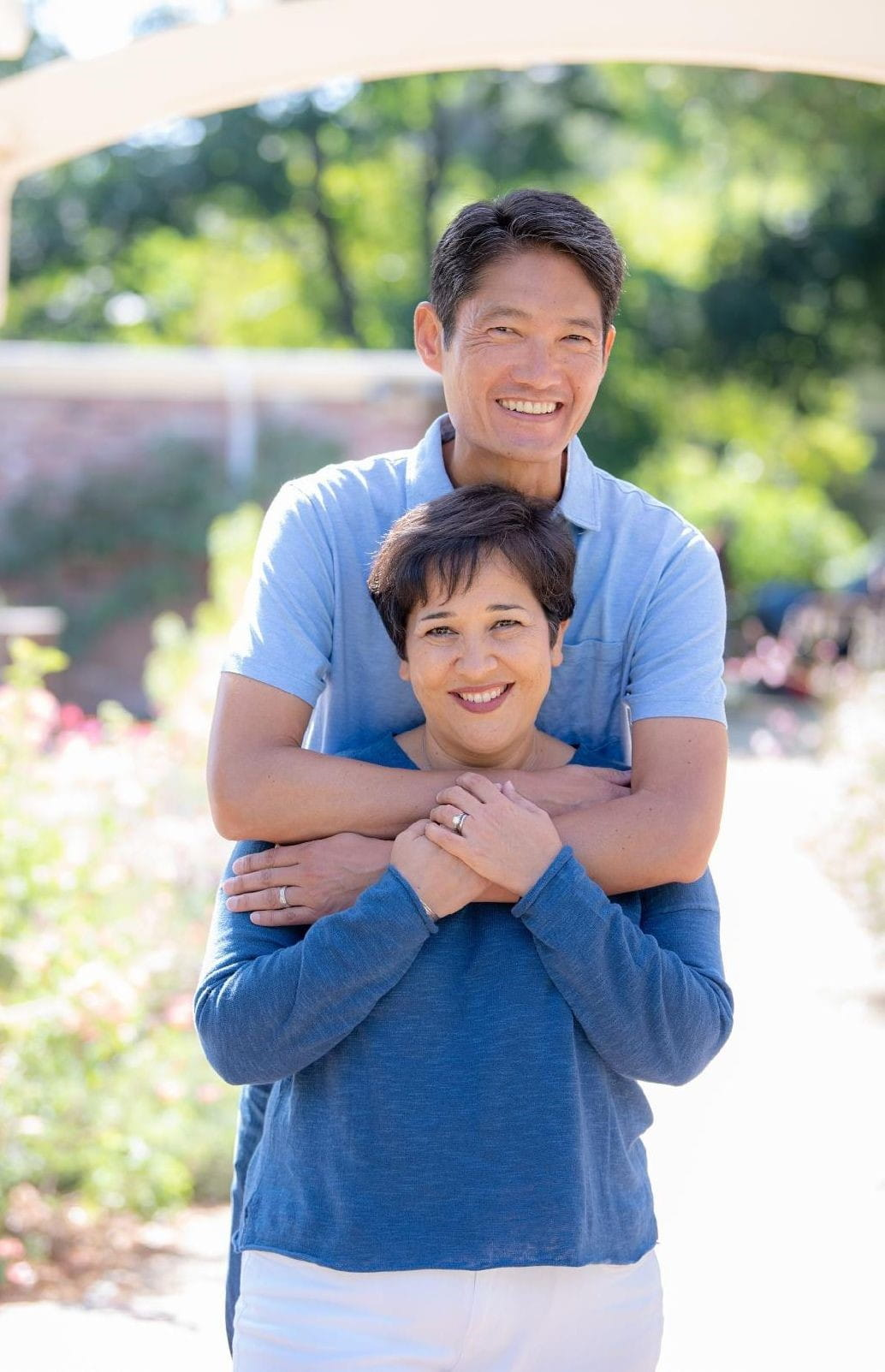 Congratulate Dana and Kenji on their 22nd anniversary.